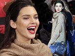 NEW YORK - OCTOBER 22: Kendall Jenner and Gigi Hadid watch the New York Knicks play the Washington Wizards in a pre season game at Madison Square Garden on October 22, 2014 in New York City .   \nPHOTOGRAPH BY UPI /Landov / Barcroft Media\nUK Office, London.\nT +44 845 370 2233\nW www.barcroftmedia.com\nUSA Office, New York City.\nT +1 212 796 2458\nW www.barcroftusa.com\nIndian Office, Delhi.\nT +91 11 4053 2429\nW www.barcroftindia.com