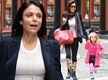 NEW YORK, NY - OCTOBER 22:  Bethenny Frankel is seen walking in SoHo  on October 22, 2014 in New York City.  (Photo by Raymond Hall/GC Images)