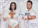 22 October 2014. Katie Price photocall at The Worx studios for launch of her latest novel Make My Wish Come True Credit: O'Rourke/GoffPhotos.com   Ref: KGC-81