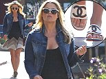 "Picture Shows: Ali Larter  October 22, 2014    Pregnant ""You're Not You"" star Ali Larter leaves Drybar after getting her hair done in West Hollywood, California.     Ali, due to be welcoming her second child in only a matter of weeks, hid her baby bump under a loose black dress.    Exclusive All Rounder  UK RIGHTS ONLY  Pictures by : FameFlynet UK    2014  Tel : +44 (0)20 3551 5049  Email : info@fameflynet.uk.com"