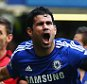 Diego Costa of Chelsea celebrates as he scores their second goal during the Barclays Premier League match between Chelsea and Swansea City at Stamford Bridge on September 13, 2014 in London, England.  (Photo by Paul Gilham/Getty Images)