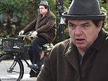Oliver Platt rides his bike downtown in NYC.\n\nPictured: Oliver Platt\nRef: SPL871200  211014  \nPicture by: Ron Asadorian / Splash News\n\nSplash News and Pictures\nLos Angeles: 310-821-2666\nNew York: 212-619-2666\nLondon: 870-934-2666\nphotodesk@splashnews.com\n
