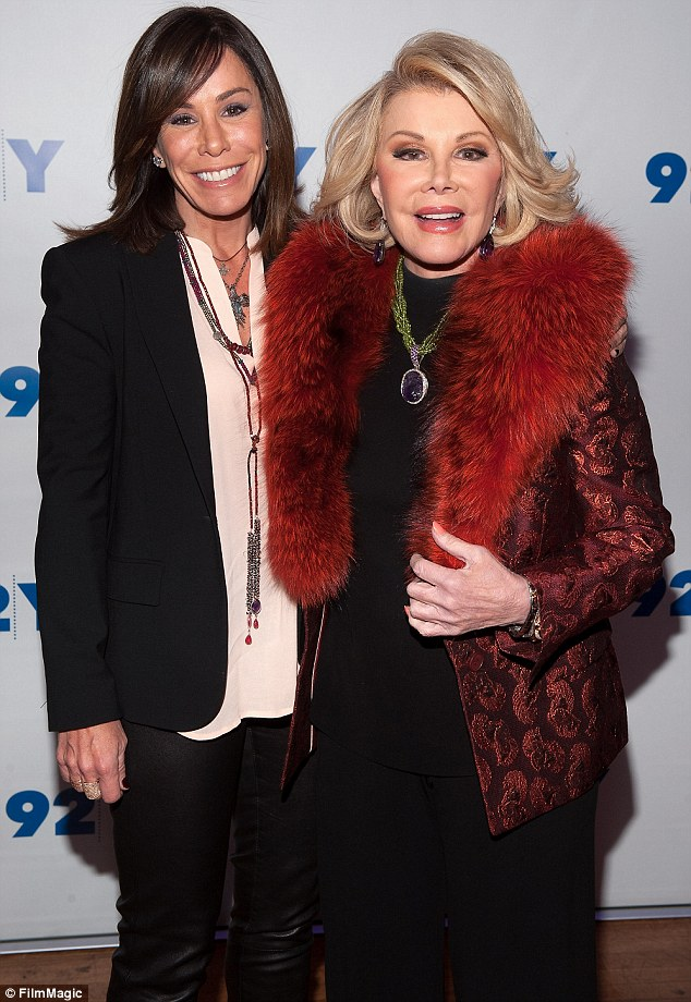 She WILL sue: Melissa Rivers will allegedly sue the clinic where her mother Joan went into cardiac arrest a week before her death in order to find out what really happened