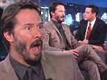 """Keanu Reeves' charming interview with Jimmy Kimmel Wednesday had more than a few gems. Among them: Reeves believes he saw a ghost when he was a small boy.\n\n""""It was in New York. It was cool,"""" Reeves said, describing what he saw as a jacket floating in through a doorway.\n\nRead more Keanu Reeves: """"It Sucks"""" Not Getting More Studio Offers\n\n""""There's no head, there's no body, there's no legs. It's just there. And then it disappears,"""" Reeves said, going on to question if that really qualified what he saw as a ghost. """"Is that a ghost? Or is that just some weird floating jacket?"""""""