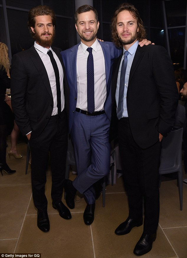 Trio of honorees: Andrew and Taylor flanked Joshua who was honoured for his work with Oceana
