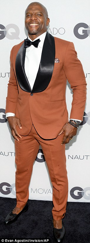 Showing support: George Lopez and Terry Crews also attended the GQ Gentlemen's Ball