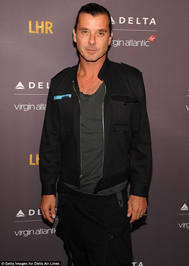 Where's Gwen? Gavin Rossdale worked the red carpet without his famous wife Gwen Stefani