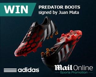 Juan Mata boots