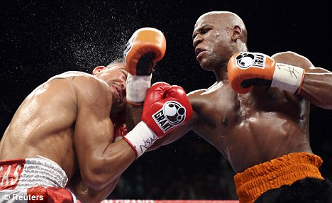 The main man: Mayweather remains one of boxing's big draws on pay-per-view