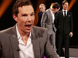 Benedict Cumberbatch during filming of the Graham Norton Show at the London Studios, London, to be aired on BBC One on Friday evening. PRESS ASSOCIATION Photo. Picture date: Thursday October 23, 2014. Photo credit should read: Yui Mok/PA Wire