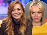 EDITORIAL USE ONLY / NO MERCHANDISING  Mandatory Credit: Photo by Brian J Ritchie/REX (4216608aq)  Lindsay Lohan  'The Jonathan Ross Show' TV Programme, London, Britain. - 25 Oct 2014