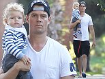 Picture Shows: Axl Duhamel, Josh Duhamel  October 23, 2014    'Don Peyote' actor Josh Duhamel takes his son Axl to a baby class in Santa Monica, California.     Besides acting and parenting, Josh has been busy using his fame for a good cause and recently became involved in 'Project Sunlight,' a nationwide project to end child hunger.    Exclusive - All Round  UK RIGHTS ONLY    Pictures by : FameFlynet UK    2014  Tel : +44 (0)20 3551 5049  Email : info@fameflynet.uk.com