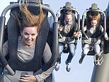 19 Oct 2014  - THORPE PARK  - UK *** EXCLUSIVE ALL ROUND PICTURES *** FORMER SPICE GIRL GERI HALLIWELL SEEN WITH BOYFRIEND CHRISTIAN HORNER AT THORPE PARK ON SWARM RIDE HOLDING HANDS AS THE PAIR ENJOY A DATE SUNDAY!  PLEASE CREDIT : PETTS-MOORE / XPOSUREPHOTOS.COM ***UK CLIENTS - PICTURES CONTAINING CHILDREN PLEASE PIXELATE FACE PRIOR TO PUBLICATION *** **UK CLIENTS MUST CALL PRIOR TO TV OR ONLINE USAGE PLEASE TELEPHONE   44 208 344 2007 **