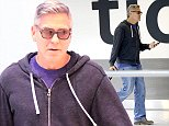 24.OCTOBER.2014 - LONDON - UK *** STRICTLY NOT AVAILABLE FOR MAIL ONLINE AND ANY ONLINE SUBSCRIPTION DEALS UNLESS FEE AGREED PRIOR TO USAGE*** *** EXCLUSIVE ALL ROUND PICTURES *** * STRICTLY NOT AVAILABLE FOR AUSTRALIA AND NEW ZEALAND * GEORGE CLOONEY SPOTTED ARRIVING AT HEATHROW AIRPORT IN LONDON, UK. GEORGE WENT UNNOTICED AS HE WALKED THROUGH THE STANDARD ARRIVALS GATE. BYLINE MUST READ : XPOSUREPHOTOS.COM ***UK CLIENTS - PICTURES CONTAINING CHILDREN PLEASE PIXELATE FACE PRIOR TO PUBLICATION *** UK CLIENTS MUST CALL PRIOR TO TV OR ONLINE USAGE PLEASE TELEPHONE 0208 344 2007**
