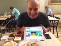 In Palo Alto, Even the Hummus Guy Has an E-Commerce Startup