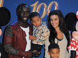 Team-mate Bacary Sagna was also at the Disney on Ice event at the Manchester Arena with wife Ludivine