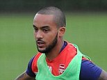 Walcott could link up with new attacking signings Danny Welbeck and Alexis Sanchez for the first time