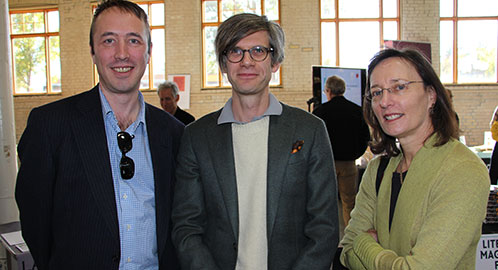 Stephan Eirik Clark, Dylan Hicks, and Julie Schumacher appeared at the Twin Cities Book Festival!