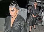 Singer Lady Gaga is seen here arriving back at her London hotel in the early hours of the morning and is seen wearing a long black leather coat.\nGaga was more then happy to pose for photos and meet some of her adoring fans but Gaga was soon Mobbed by her large group of fans.\n\nPictured: Lady Gaga\nRef: SPL874995  251014  \nPicture by: WeirPhotos / Splash News\n\nSplash News and Pictures\nLos Angeles: 310-821-2666\nNew York: 212-619-2666\nLondon: 870-934-2666\nphotodesk@splashnews.com\n