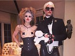 theannalynnemccordSo this i happening... @erikrudy as the fabulous #KarlLagerfeld and me as the Creepy Chick on his right. ?? #Halloween