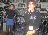 Willow Smith brings out Jaden Smith at The Fader concert located at Converse Rubber Tracks, NYC.  Pictured: Willow Smith and Jaden Smith Ref: SPL874210  241014   Picture by: Rick Davis / Splash News  Splash News and Pictures Los Angeles: 310-821-2666 New York: 212-619-2666 London: 870-934-2666 photodesk@splashnews.com