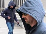 *NO NEW YORK POST OR NEWSCOM*\nEXCLUSIVE: has Hugh Jackman's skin cancer returned? the usually amiable actor trying to hide his Bandaged Nose under a cap and hood, keeping his head down, as he strolled close to him West Village pad with wife Deborah Furness, daughter, Ava and son Oscar, who looked visibly upset and close to tears. Hugh had a bag of dog poop in his hand and walked separate from his family. Jackman has been treated on his nose for skin cancer once or twice in the past.\n\nPictured: Hugh Jackman\nRef: SPL870418  261014   EXCLUSIVE\nPicture by: Lawrence Schwartzwald\n\nSplash News and Pictures\nLos Angeles: 310-821-2666\nNew York: 212-619-2666\nLondon: 870-934-2666\nphotodesk@splashnews.com\n