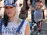 Gwen Stefani and Gavin Rossdale have quality time at the Underwood Family Farms with their boys Kingston,Zuma and Apollo in Moorpark,CA\n\nPictured: Gwen Stefani,Gavin,Kingston,Zuma and Apollo Rossdale\nRef: SPL875058  261014  \nPicture by: Ako/Splash News\n\nSplash News and Pictures\nLos Angeles: 310-821-2666\nNew York: 212-619-2666\nLondon: 870-934-2666\nphotodesk@splashnews.com\n