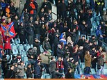 650 people watched CSKA Moscow vs Manchester City due to the Russian club's stadium ban