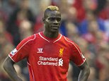Liverpool's Mario Balotelli is seen during his team's  English Premier League soccer match against Hull at Anfield Stadium, Liverpool, England, Saturday Oct. 25, 2014. (AP Photo/Jon Super)