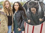 26 Oct 2014  - SURREY  - UK *** EXCLUSIVE PICTURES *** JADE THIRLWALL AND LEIGH ANNE PINNOCK FROM HIT GIRL BAND LITTLE MIX HEAD TO THORPE PARK FOR FRIGHT NIGHT, HOWEVER JADE WAS NOT WILLING TO GO ON ANY RIDES EVEN THO SHE HAD MADE THE TREK TO THE ADVENTURE PARK, SHE OPTED TO WATCH LEIGH ANNE GO ON EVERYTHING AND CHEERED HER PAL ON!!  PLEASE CREDIT :  PETTS-MOORE / XPOSUREPHOTOS.COM ***UK CLIENTS - PICTURES CONTAINING CHILDREN PLEASE PIXELATE FACE PRIOR TO PUBLICATION *** **UK CLIENTS MUST CALL PRIOR TO TV OR ONLINE USAGE PLEASE TELEPHONE   44 208 344 2007 **