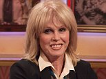 EDITORIAL USE ONLY / NO MERCHANDISING  Mandatory Credit: Photo by Ken McKay/ITV/REX (3747919m)  Joanna Lumley  'The Paul O'Grady Show' TV Programme, London, Britain - 12 May 2014
