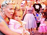 EXCLUSIVE: Pink and husband Carey Hart took their adorable daughter Willow Sage to Disneyland to attend Mickey's Halloween Party over the weekend. The family  were spotted dressed up for the occasion and were seen enjoying the Fantasyland rides. The singer and her daughter dressed up as princess while dad painted his face as a mime. The family is pictured riding the Storytellers boat ride and were also seen on Alice in Wonderland, Peter Pan's Flight, and It's a small world.\\n\\nPictured: Pink, Alecia Moore, Carey Hart, Willow Sage Hart\\nRef: SPL875136  271014   EXCLUSIVE\\nPicture by: Sharpshooter Images / Splash\\n\\nSplash News and Pictures\\nLos Angeles: 310-821-2666\\nNew York: 212-619-2666\\nLondon: 870-934-2666\\nphotodesk@splashnews.com\\n