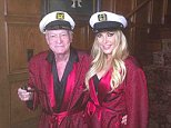 EROTEME.CO.UK FOR UK SALES: Contact Caroline 44 207 431 1598 Celebrity social network pictures. Picture shows: Crystal Hefner and Hugh Hefner. NON-EXCLUSIVE: Monday 27th October 2014 Job: 141026UT1  London, UK EROTEME.CO.UK 44 207 431 1598 Disclaimer note of Eroteme.co.uk: Eroteme Ltd does not claim copyright for this image. This image is merely a supply image and payment will be on supply/usage fee only.
