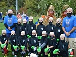 Tim Howard posted this picture of the the children on his official Twitter page on Friday evening