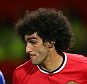 MANCHESTER, ENGLAND - OCTOBER 26:  Marouane Fellaini of Manchester United competes with Gary Cahill of Chelsea during the Barclays Premier League match between Manchester United and Chelsea at Old Trafford on October 26, 2014 in Manchester, England.  (Photo by Alex Livesey/Getty Images)