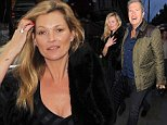 29 October 2014.\nKate Moss seen having lunch with Mario Testino at Scotts restaurant. \nCredit: Ben/GoffPhotos.com   Ref: KGC-102\n