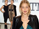 NEW YORK, NY - OCTOBER 28:  Model Gigi Hadid attends Sportmax and Teen Vogue Celebrate The Fall/Winter 2014 Collection at Sportmax on October 28, 2014 in New York City.  (Photo by Monica Schipper/Getty Images for Teen Vogue)