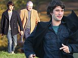 Picture Shows: Ben Whishaw, Jim Broadbent  October 28, 2014    Jim Broadbent and Ben Whishaw film scene for the TV movie 'The London Spy' on top of Parliament Hill on Hampstead Heath with stunning views of London in the background.    Ben had to do a running scene as the sun went down before he was running in almost total darkness.    Non Exclusive  WORLDWIDE RIGHTS    Pictures by : FameFlynet UK    2014  Tel : +44 (0)20 3551 5049  Email : info@fameflynet.uk.com