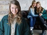Bindi Irwin and her mother Terri photographed at the press conference for the The¿Australian Geographic Society¿2014 Gala Awards. Picture: Attila Szilvasi.