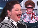 Melissa McCarthy on Adam Levine's Halloween Party
