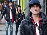 NEW YORK, NY - OCTOBER 27:  Tommy Lee and Sofia Toufa are seen in Soho on October 27, 2014 in New York City.  (Photo by Alo Ceballos/GC Images)