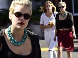 EXCLUSIVE: Scout Willis treats her younger sister Talullah to a healthy breakfast at the Farmshop restaurant in the Brentwood Country Mart. Talullah looks a lot healthier as she was recently spent some time in rehab, allegedly for drug and alcohol addiction.\n\nPictured: Tallulah Willis and Scout Willis\nRef: SPL875185  281014   EXCLUSIVE\nPicture by: M A N I K / Splash News\n\nSplash News and Pictures\nLos Angeles: 310-821-2666\nNew York: 212-619-2666\nLondon: 870-934-2666\nphotodesk@splashnews.com\n