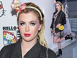 LOS ANGELES, CA - OCTOBER 29: Ireland Baldwin attends Hello Kitty Con 2014 Opening Night Party Co-hosted By Target on October 29, 2014 in Los Angeles, California. (Photo by Stefanie Keenan/Getty Images for Sanrio)
