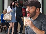 EXCLUSIVE: Exclusive-Jeremy Piven has lunch with a pretty lady in New York. The Entourage star then said goodbye to his date after the restaurant in Soho and ended up chatting to a pretty blonde who upon saying goodbye, walked off down the street with a big smile on her face.\n\nPictured: Jeremy Piven\nRef: SPL871615  281014   EXCLUSIVE\nPicture by: GSNY / Splash News\n\nSplash News and Pictures\nLos Angeles: 310-821-2666\nNew York: 212-619-2666\nLondon: 870-934-2666\nphotodesk@splashnews.com\n