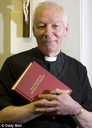 Father Donald Minchew has admitted to entering into a civil partnership as a favour to a family friend desperate to work in Britain