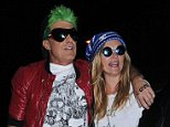 'Outside of UK subscription deals'  Mandatory Credit: Photo by Rotello/Photofab/REX (4230434n)  Jamie Hince and Kate Moss  Jonathan Ross's Halloween Party, London, Britain - 31 Oct 2014