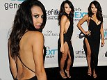 Pictured: Naya Rivera Mandatory Credit    Gilbert Flores/Broadimage UNICEF Dia de los Muertos Black & White Masquerade Ball  10/30/14, Beverly Hills, California, United States of America  Broadimage Newswire Los Angeles 1+  (310) 301-1027 New York      1+  (646) 827-9134 sales@broadimage.com http://www.broadimage.com