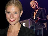 HOLLYWOOD, CA - OCTOBER 29: Host Gwyneth Paltrow speaks onstage during the amfAR LA Inspiration Gala honoring Tom Ford at Milk Studios on October 29, 2014 in Hollywood, California.  (Photo by Kevin Tachman/Getty Images for amfAR)