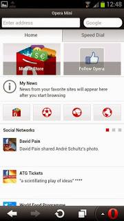 تحميل تطبيق التصفح Opera Mini browser for Android للاندرويد اخر اصدار