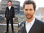 'Interstellar' photocall in Rome\nFeaturing: Matthew McConaughey\nWhere: Rome, Italy\nWhen: 01 Nov 2014\nCredit: KIKA/WENN.com\n**Only available for publication in UK, Germany, Austria, Switzerland, USA**